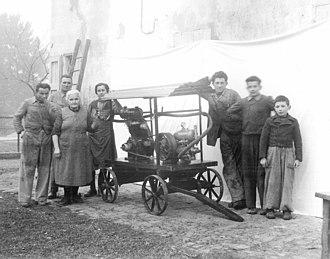 Goldoni (company) - Goldoni's family - 1948