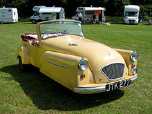 1956 Bond Minicar Mark C Deluxe Tourer Showing The Later Type Ii Grille