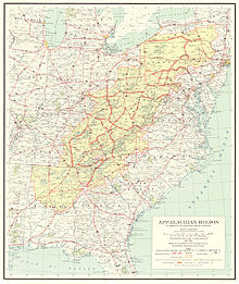 Appalachian Development Highway System Wikipedia - Map of highway system in us