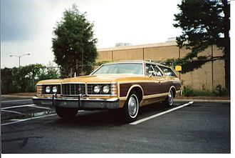 Ford Country Squire - 1973 Ford LTD Country Squire