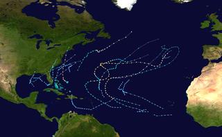 1976 Atlantic hurricane season hurricane season in the Atlantic Ocean