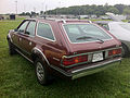 1983 AMC Eagle wagon Vintage Red-2 Mason-Dixon Dragway 2014.jpg