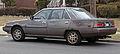 1985 Mitsubishi Galant base 2.4 (E17A) rear.jpg