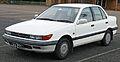 1988-1990 Mitsubishi Lancer (CA) SE sedan (2011-04-22) 02.jpg