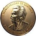 1995 (28-4) Medalla Gabriela Mistral concedida a Oreste Plath (25323961879).jpg