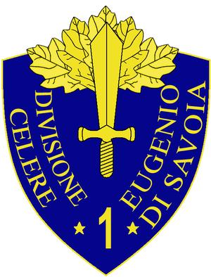1st Cavalry Division Eugenio di Savoia - 1a Cavalry Division Eugenio di Savoia Insignia