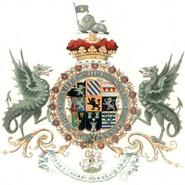 1st Duke of Marlborough arms