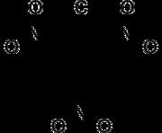 Strukturformel von 2,4,6-Trinitrochlorbenzol