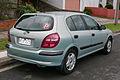 2001 Nissan Pulsar (N16) ST 5-door hatchback (2015-08-07) 02.jpg