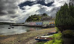 Great Britain, Skye, Portree