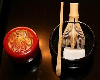 Urasenke - Tea utensils used by iemoto Sen Sōshitsu XV