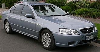 Ford Fairmont (Australia) - 2006–2008 Ford Fairmont (BF II) sedan