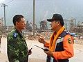 2008년 중앙119구조단 중국 쓰촨성 대지진 국제 출동(四川省 大地震, 사천성 대지진) SSL27423.JPG