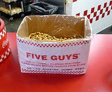 Five Guys Kosher Style Hot Dog Calories
