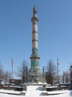 Soldiers and Sailors, the monument at Lafayette Square