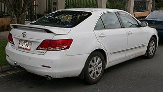 Toyota Aurion - Image: 2008 Toyota Aurion (GSV40R) Touring sedan (2015 07 03) 02