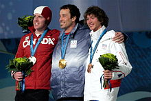 2010 Winter Olympic Men's Snowboard Cross medalists.jpg