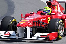 Photo de Felipe Massa au GP du Canada