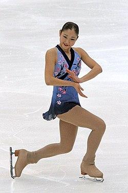 2011年四大陸選手権での長洲未来