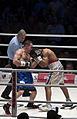 2011 boxing event in Stožice Arena-Dejan zavec II.jpg