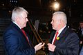 2012-03-19 Carwyn Jones and Warren Gatland at Wales Grand Slam Celebration.jpg
