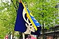 2012 Sechseläuten - Gesellschaft zu Fraumünster - Flagge 2012-04-16 14-46-34.JPG