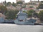 2013-08-31 Севастополь. Вспомогательное судно A512 Mosel ВМС Германии (3).JPG