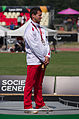 2013 IPC Athletics World Championships - 26072013 - Pawel Piotrowski bronze of the Men's Shot put - F36.jpg