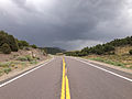 2014-08-11 14 28 53 View east along U.S. Route 50 about 46.9 miles east of the Eureka County line in White Pine County, Nevada.JPG
