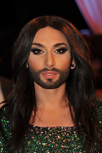 Austria in the Eurovision Song Contest 2014 - Conchita Wurst at Austria's Dancing Stars