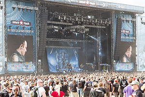 Trivium (band) - Trivium performing in Nova Rock Festival in 2014.