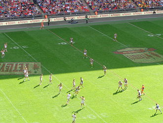 2014 Challenge Cup - Leeds and Castleford battle it out in the final.