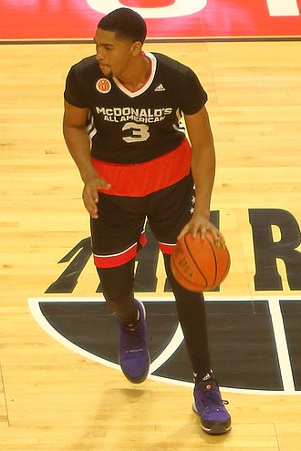 2015–16 Memphis Tigers men's basketball team - Dedric Lawson at the 2015 McDonald's All-American Boys Game