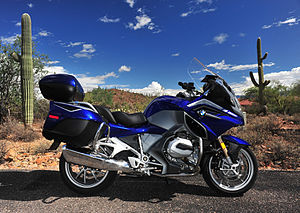 Outline of motorcycles and motorcycling - 2015 BMW R1200RT Sport Touring Motorcycle