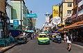 2016 Bangkok, Dystrykt Phra Nakhon, Ulica Khaosan (03).jpg