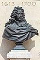2017 Busto de bronce de Andre le Notre deseñador e arquitecto paisaxista de xardines Tuilieries, París P06.jpg