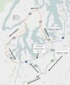 2017 Washington train derailment detour routes.png
