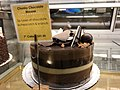2018-03-13 00 47 00 A chunky chocolate mousse cake on display at the Amphora Diner in Herndon, Fairfax County, Virginia.jpg