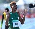 2018-10-16 Stage 2 (Boys' 400 metre hurdles) at 2018 Summer Youth Olympics by Sandro Halank–088.jpg