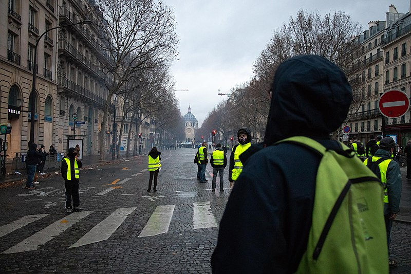 File:20181208 Gilets jaunes acte 4 Paris.jpg