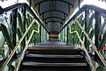 2018 at Worksop station - the footbridge interior.JPG