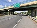 2019-06-06 16 09 54 View north along Interstate 81 at Exit 247A (U.S. Route 33 EAST, Elkton) in Harrisonburg, Virginia.jpg