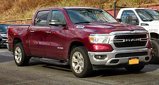 Ram pickup American full-size pickup built by FCA