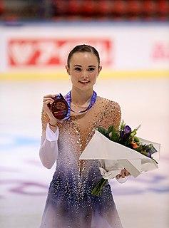 Mariah Bell American figure skater