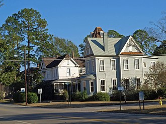 National Register of Historic Places listings in Butler County, Alabama - Image: 206 212 218 E. Commerce Street Greenville Nov 2013 2