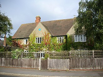 North Oxford - The former home of the author and academic J. R. R. Tolkien, 20 Northmoor Road.