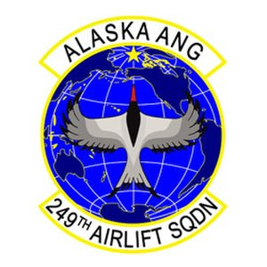 249th Airlift Squadron - Image: 249th Airlift Squadron emblem