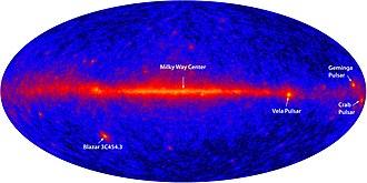 Vela Supernova Remnant - Image: 267641main allsky labeled HI
