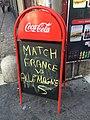2 finale France Allemagne rue Sainte Catherine.jpg