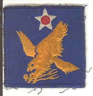 Second Air Force - World War II 2nd AF patch